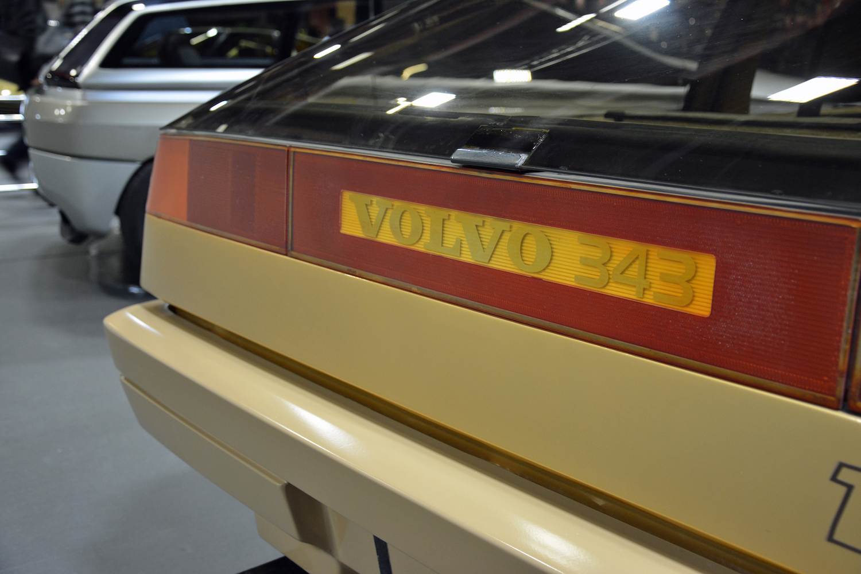 1979 Volvo Tundra rear volvo 343 badge