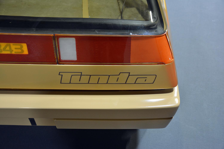 1979 Volvo Tundra rear decal