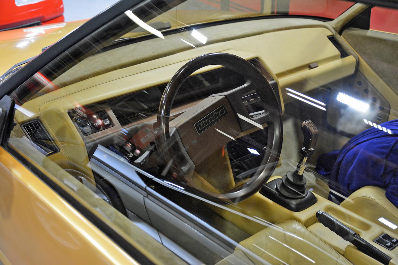 1979 Volvo Tundra interior dash