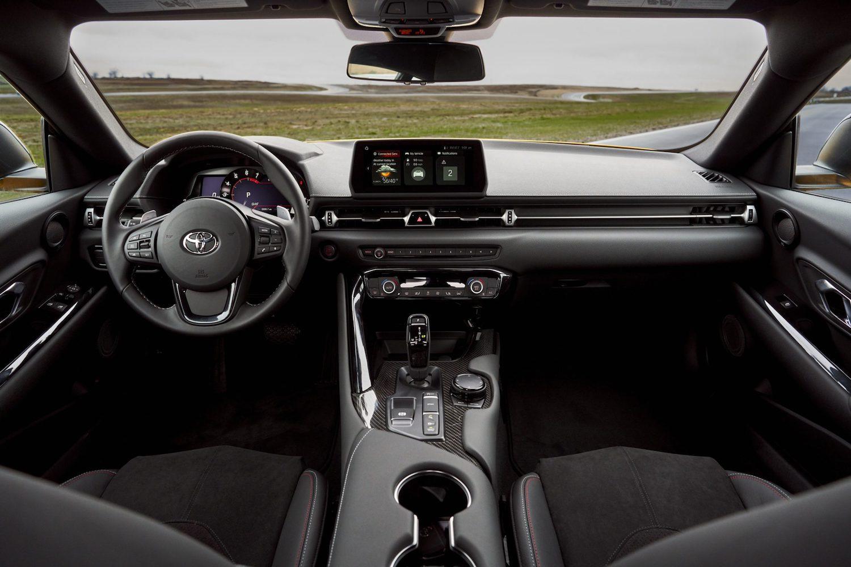 GR Supra 2.0 interior front