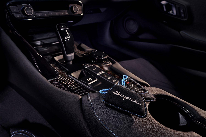 GR Supra A91 Edition interior center console
