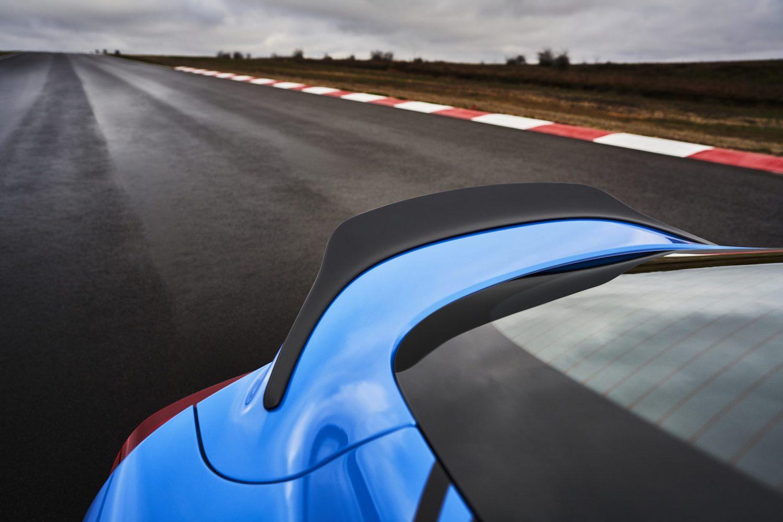 GR Supra A91 Edition rear lip closeup