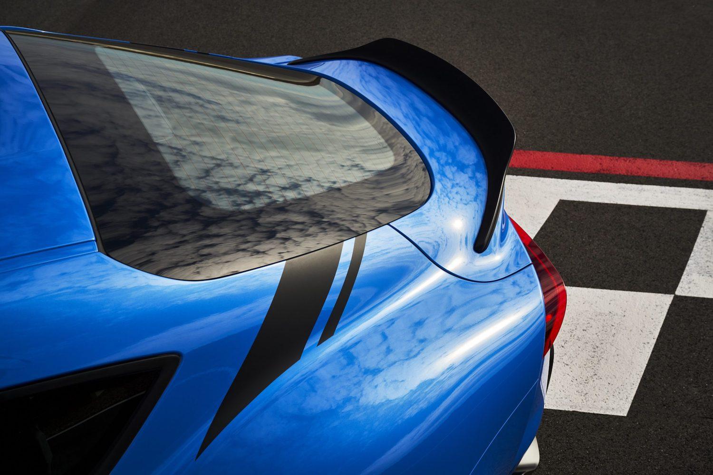 GR Supra A91 Edition elevated rear closeup