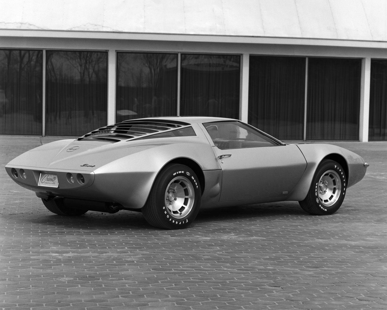1970 XP-882 Mid Engine Corvette Concept