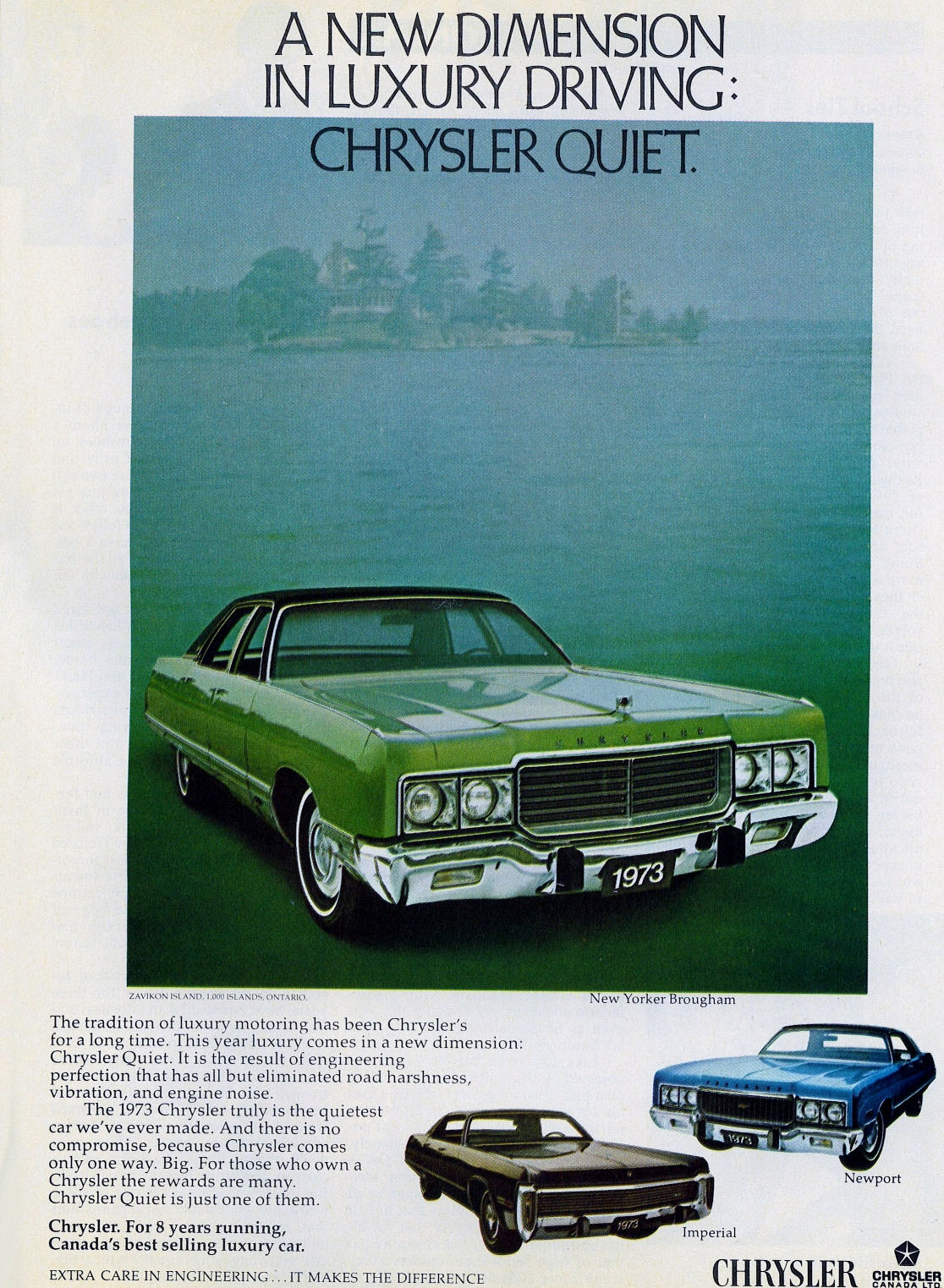 1973 Chrysler New Yorker Brougham