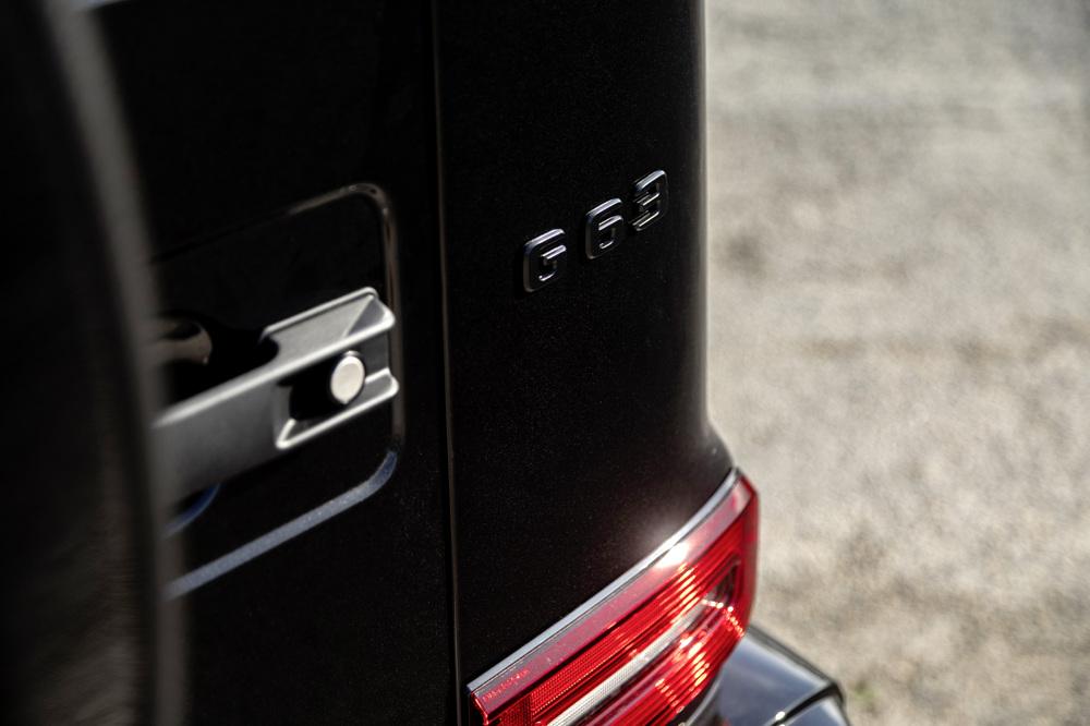 wagon rear badge closeup