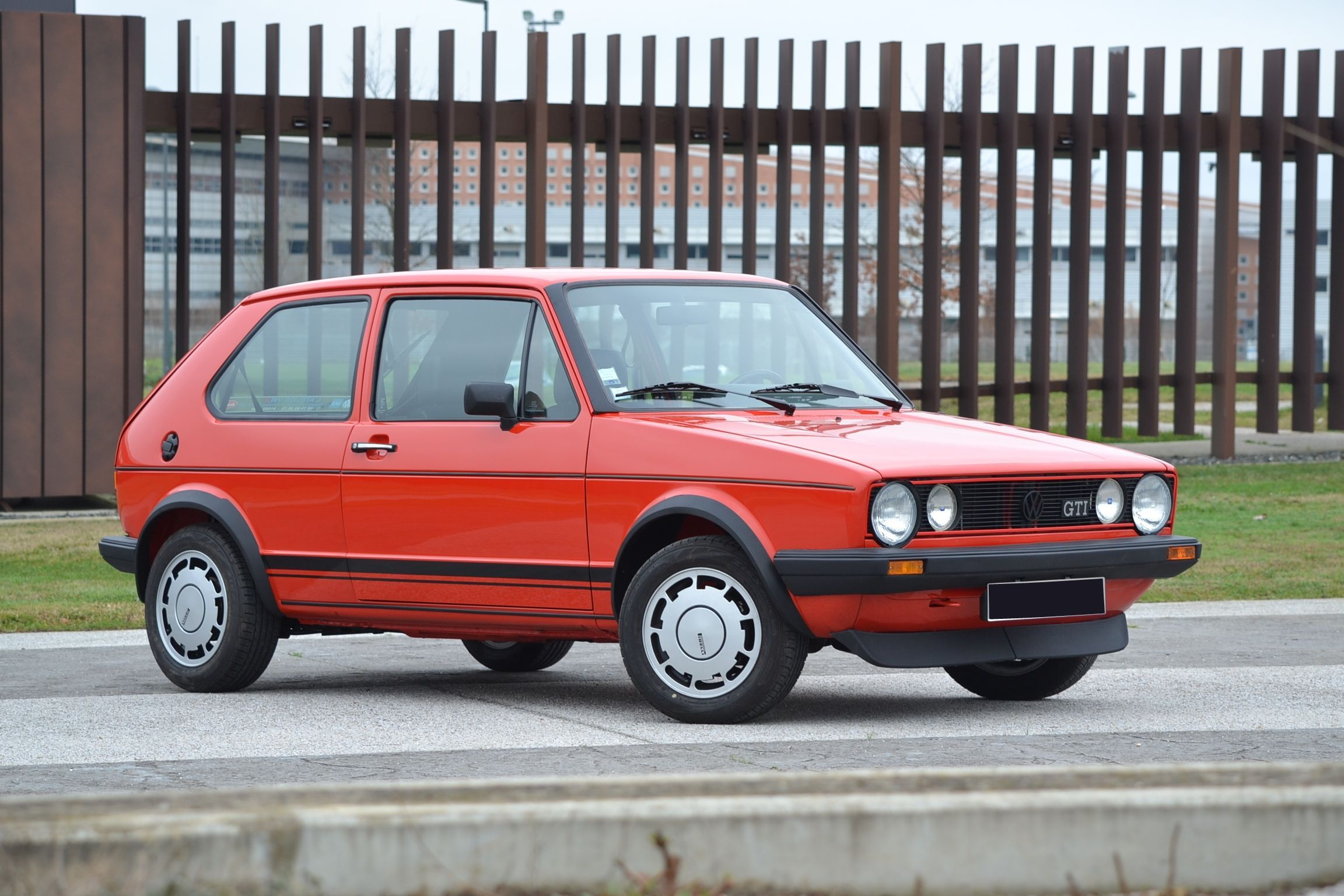 1983 Volkswagen Golf GTI 1 800 Plus Pirelli+