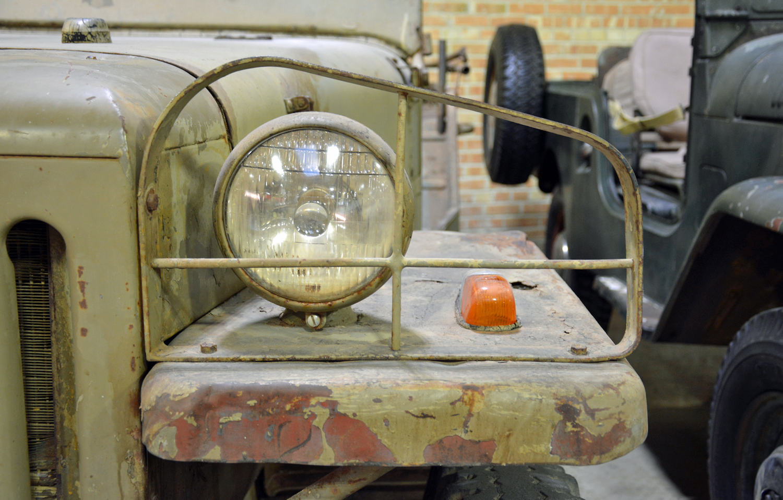 Toyota BJT front headlight