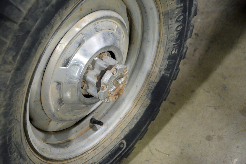 1978 Toyota FJ55 front headlight