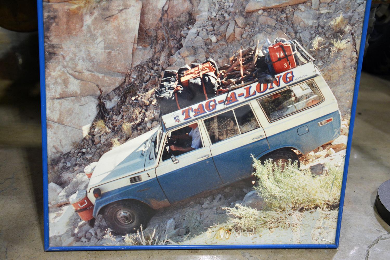 1978 Toyota FJ55 poster offroading