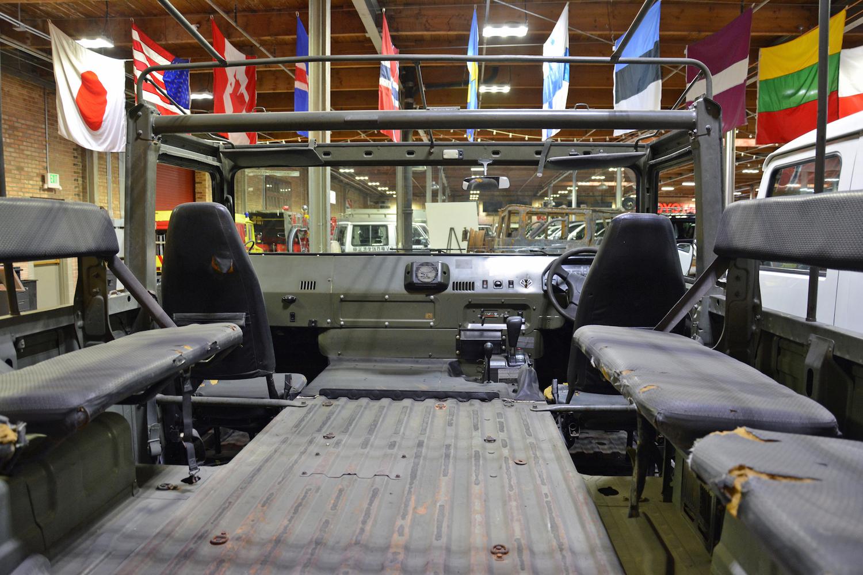 1996 BXD10 interior