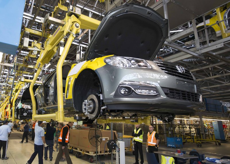 sedan assembly line holden manufacturing