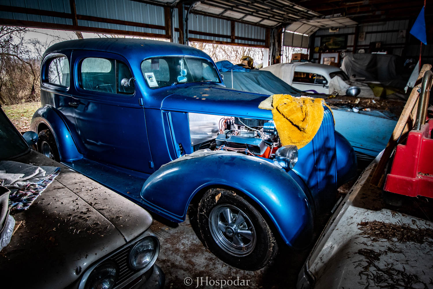 50 Car Barn Find In Pennsylvania Is A Dusty Gold Mine Of Detroit Iron Hagerty Media