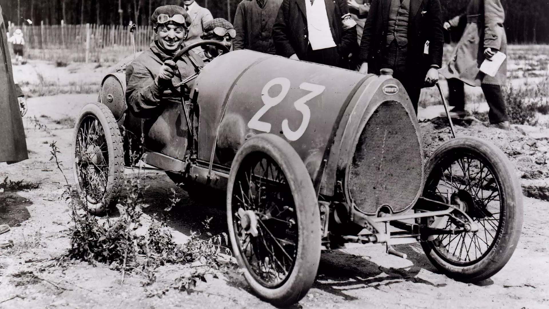 These vintage Bugatti photos honor the muddy, reckless days of prewar Grand Prix racing
