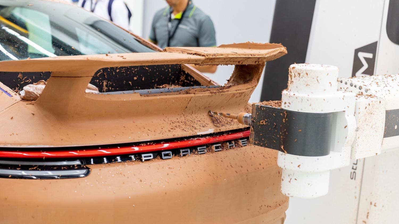 SportDesign aerokit clay model carving