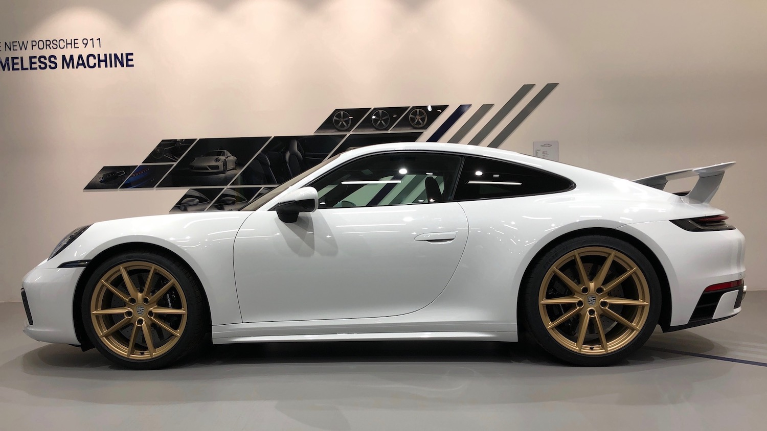 SportDesign side skirts on 911 side-view