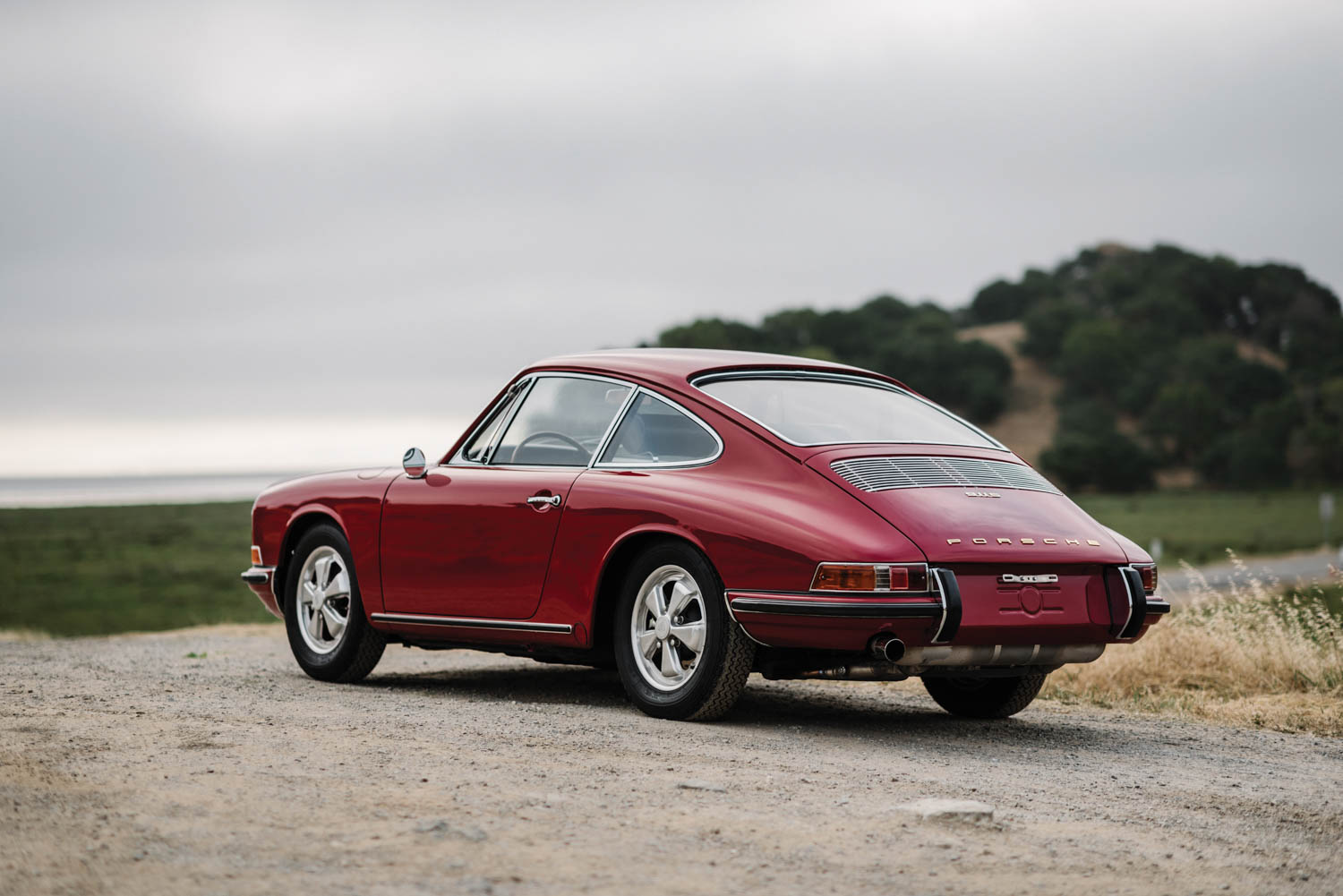 1967 Porsche 911 S Coupe rear 3/4