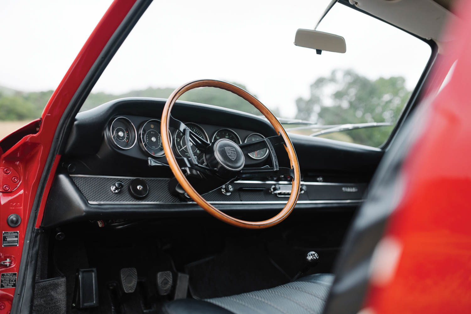 1967 Porsche 911 S Coupe interior