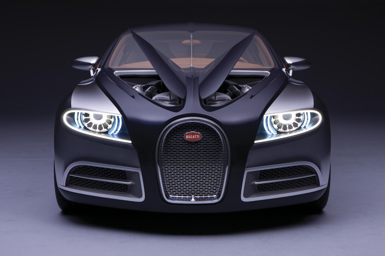 Bugatti 16C Galibier concept front