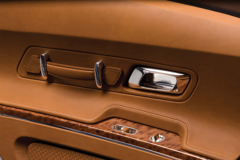 Bugatti 16C Galibier concept interior door panel details