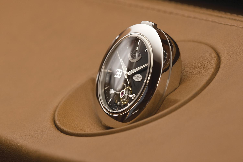Bugatti 16C Galibier concept dash clock