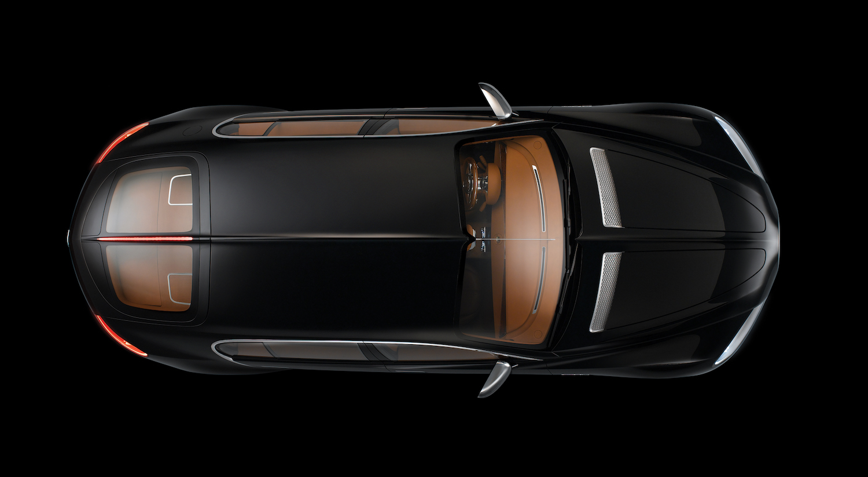 Bugatti 16C Galibier concept overhead