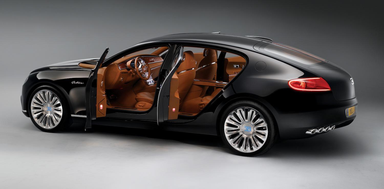 Bugatti 16C Galibier concept rear three-quarter open doors