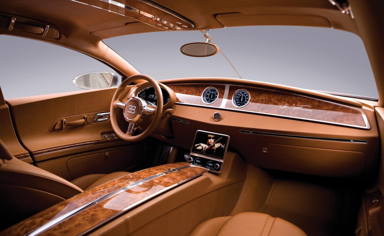 Bugatti 16C Galibier concept interior front