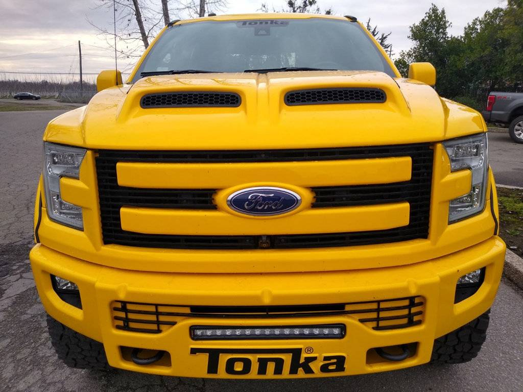 2016 Ford F-150 Tonka Edition front