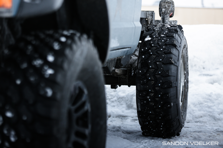 jeep comanche ice race truck wheel
