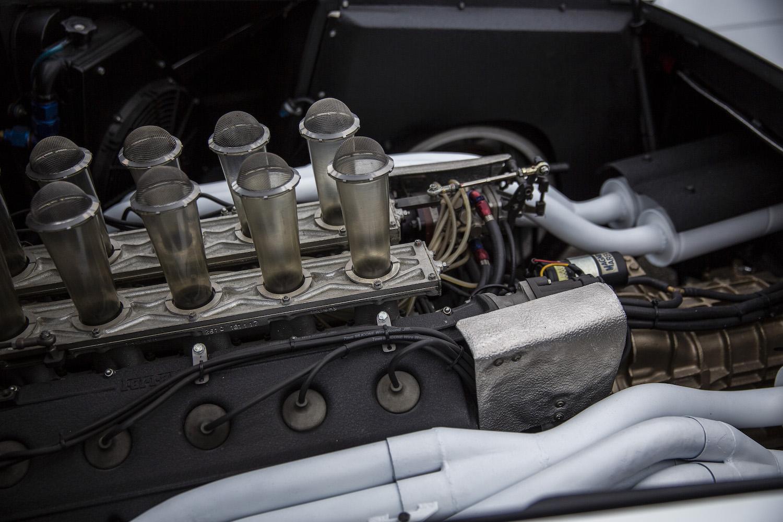 ferrari modulo engine closeup