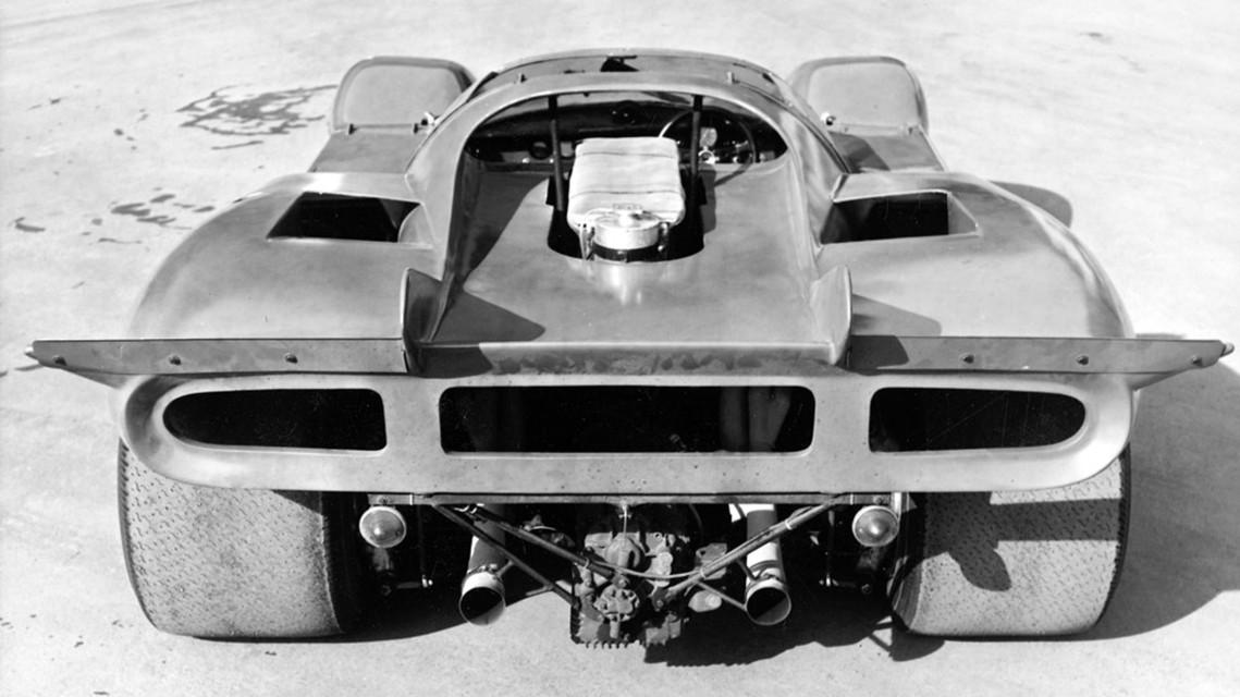 vintage ferrari supercar rear