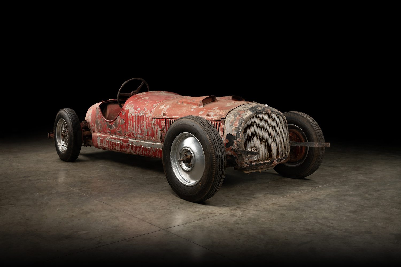 Mussolini 1930 Alfa Romeo 6C 1750 SS front three-quarter