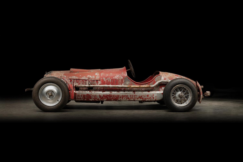 Mussolini 1930 Alfa Romeo 6C 1750 SS side-view