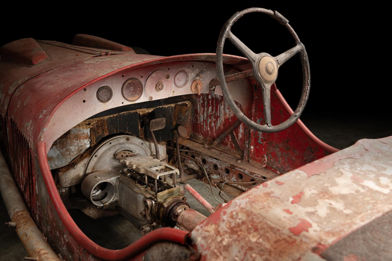 Mussolini 1930 Alfa Romeo 6C 1750 SS interior
