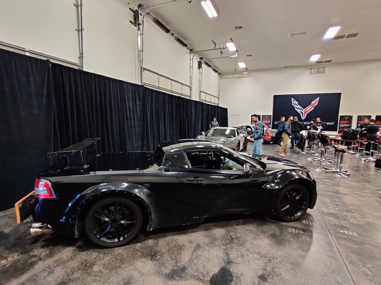 corvette blackjack mule side-view