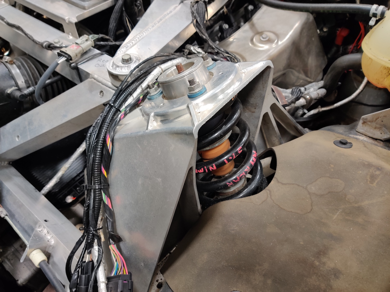 corvette blackjack mule chassis