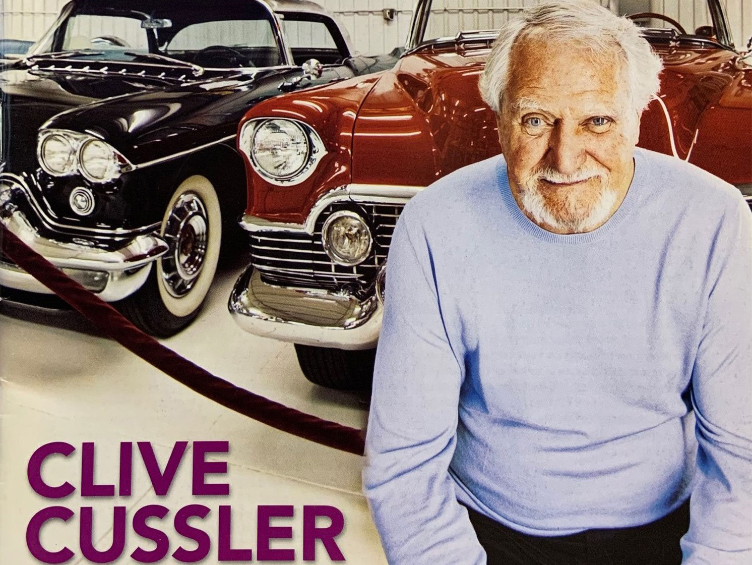 Author, adventurer, and classic car collector Clive Cussler dies thumbnail