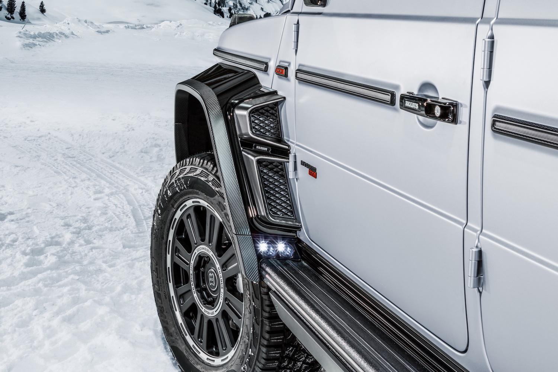 Brabus 800 Adventure XLP front wheel