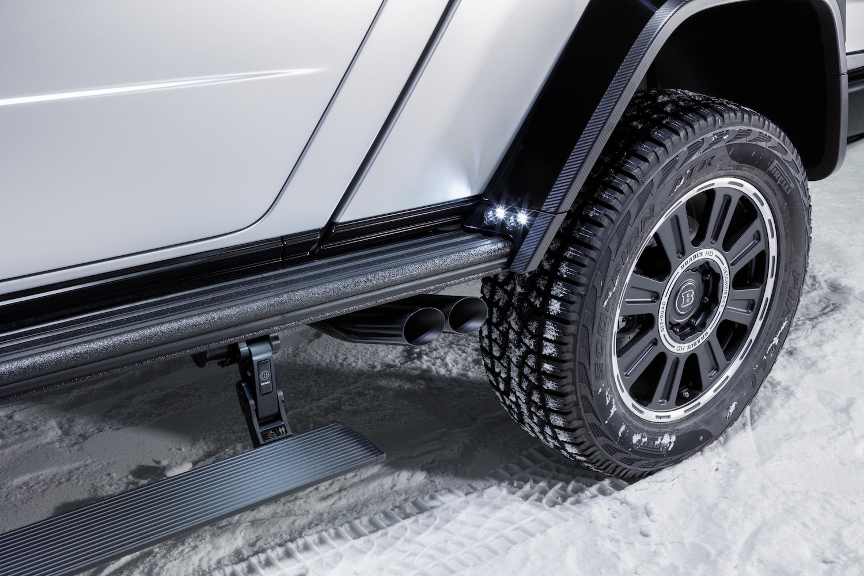 Brabus 800 Adventure XLP rear wheel