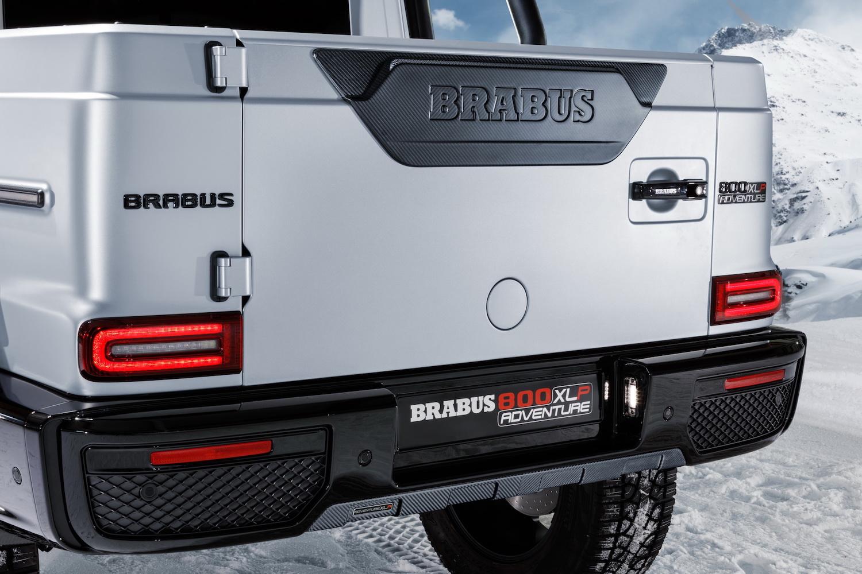 Brabus 800 Adventure XLP rear tailgate