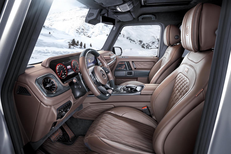Brabus 800 Adventure XLP interior