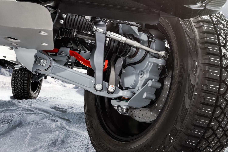Brabus 800 Adventure XLP suspension