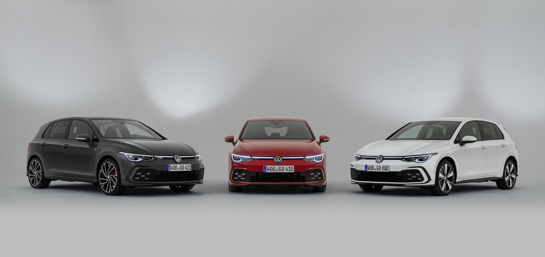 Volkswagen eighth generation volkswagen golf gti fronts