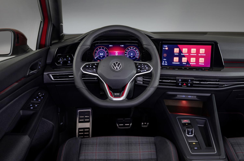 eighth generation volkswagen golf gti front interior