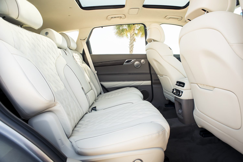 Genesis gv80 suv rear seat