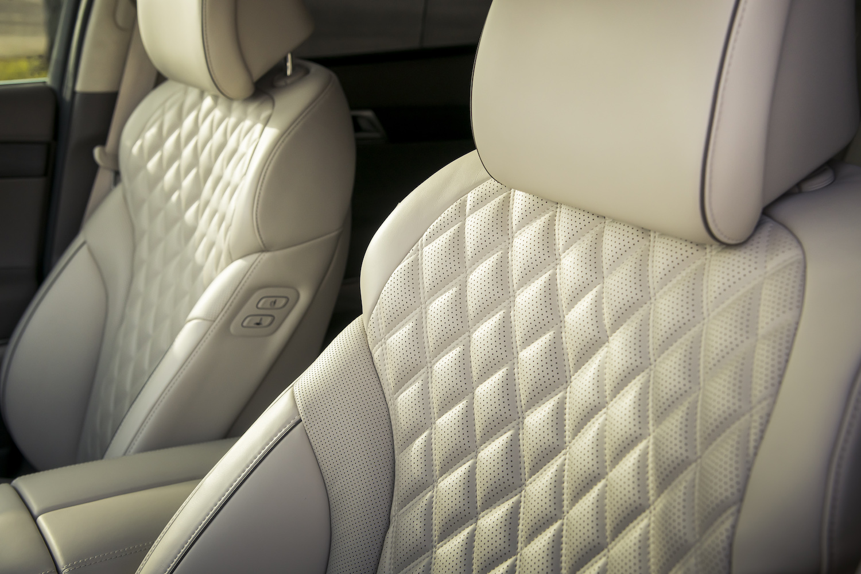 Genesis gv80 suv front seat detail