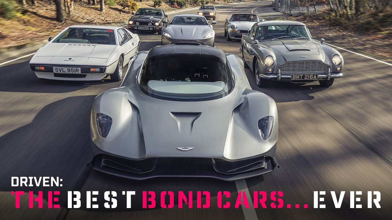 Ride along in these 6 awesome Bond cars thumbnail