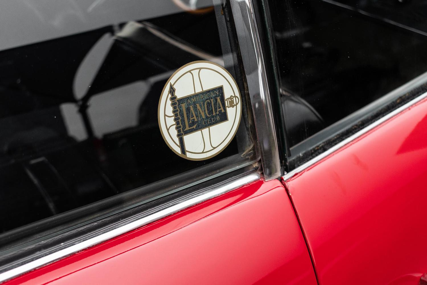 lancia flaminia sticker