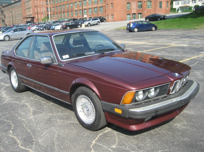 1985 bmw 635csi us spec bumper front three-quarter